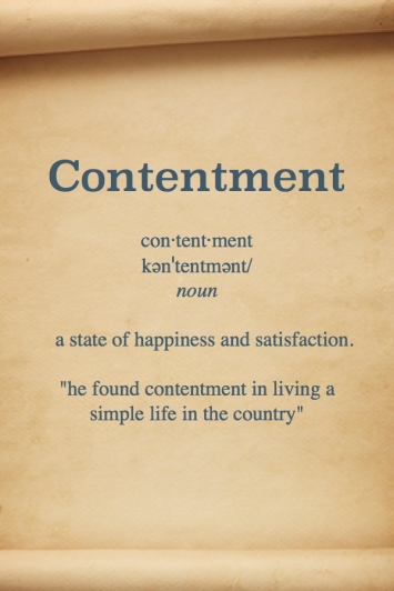 Contentment Definition