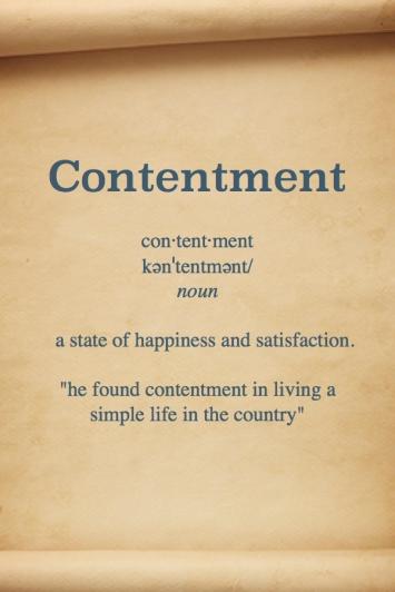 Contentment Definition