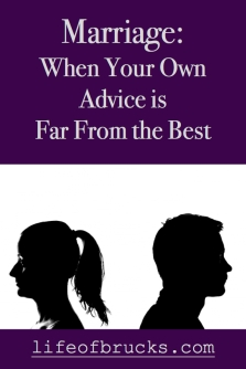 Marriage When Your Own Advice