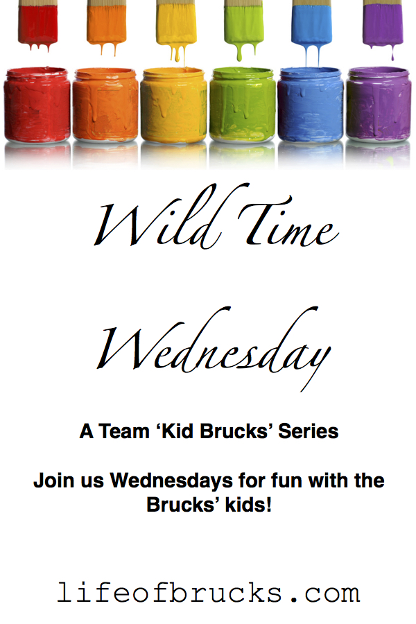Wild Time Wednesday: A Team 'Kid Brucks' Series.