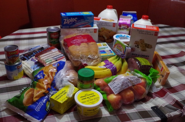 Groceries No Spend January Budget Frugal Savings