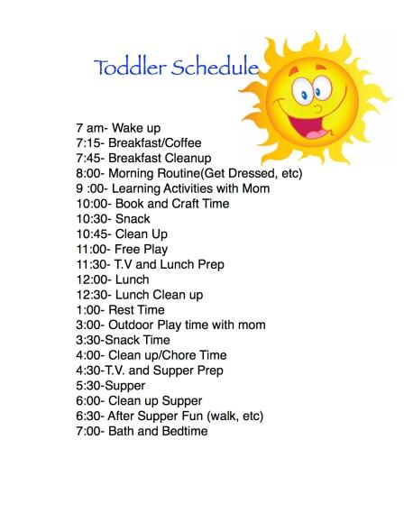 Toddler Routines Life Of Brucks Blog